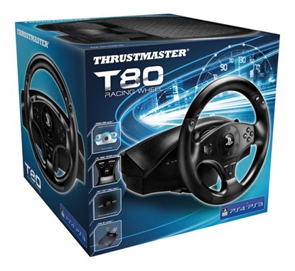 Immagine di Thrustmaster T80 Racing Wheel PS3/PS4