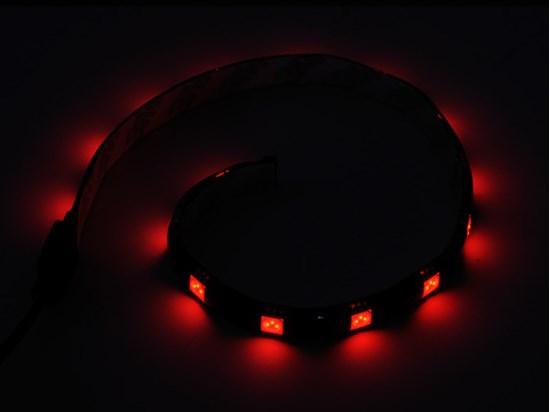 Immagine di Silverstone SST-LS01R LED Light Strip colore rosso