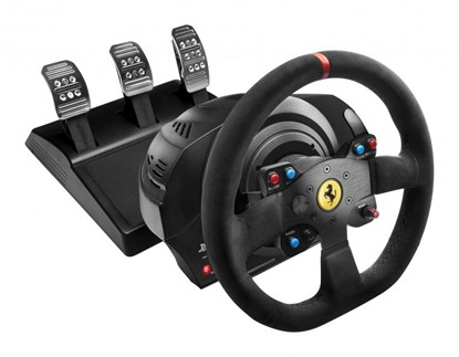 Immagine di Thrustmaster T300 Ferrari Integral Racing Wheel Alcantara Edition