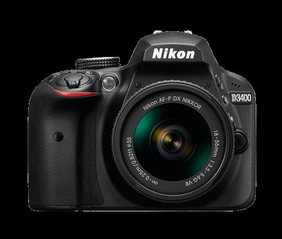 Immagine di Nikon D3400 + Nikkor AF-P 18-55 mm f:3.5-5.6G VR + SD 8GB 300X