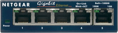 Immagine di Netgear GS105GE - ProSafe Switch 5 porte Gigabit