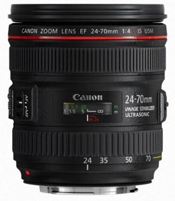 Immagine di Canon EF 24-70 mm f/4L IS USM