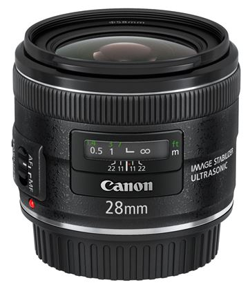 Immagine di Canon EF 28 mm f/2.8 IS USM