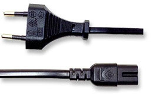 Immagine di Cavo alimentazione Notebook 2 pin - Spina Italiana