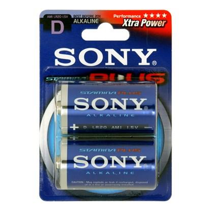 Immagine di Sony AM1B2A - Pila alcalina Torcia D -  2 pezzi