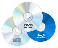 CD - DVD - Blu Ray