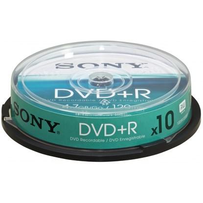 Immagine di Sony DVD+R / -R 4,7 GB - Spindle 10 pezzi