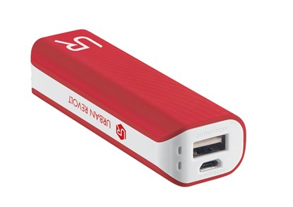 Immagine di Urban Revolt 20067 - PowerBank 2200 Portable Charger - red