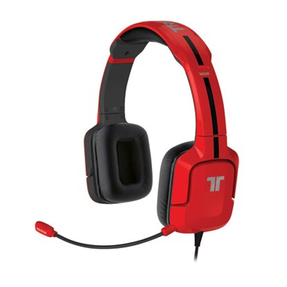 Immagine di Tritton Kunai Stereo Headset per Wii U & Nintendo 3DS - Red