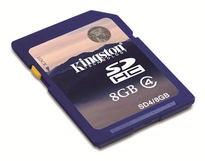 Immagine di Kingston SDHC Classe 4 -  8GB