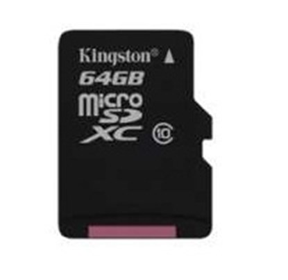 Immagine di Kingston Micro SDHC classe 10 - 64GB