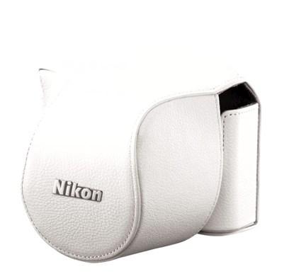 Immagine di Nikon CB-N2000SB Bianca - Custodia per Nikon 1 J1 + 10-30 mm