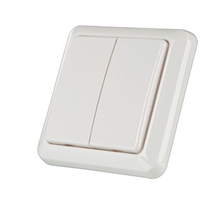 Immagine di Trust Smart Home 72012 - Double Wall Switch AWST-8802 IT