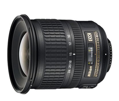 Immagine di Nikkor AF-S 10-24 mm f/3.5-4.5G DX
