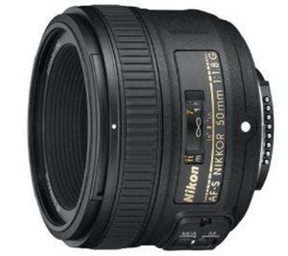 Immagine di Nikkor AF-S 50 mm f/1.8G - Diametro 58 mm