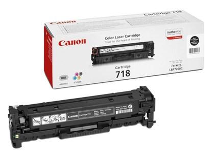Immagine di Canon 718BK - Toner nero