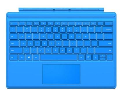 Immagine di Microsoft Surface Pro 4 Type Cover Blu - R9Q-00050