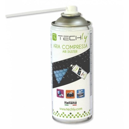 Immagine di TechLy Bomboletta Aria Compressa Spray di Pulizia 400ml