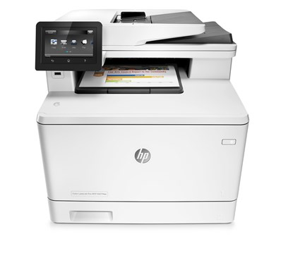 Immagine di HP Color LaserJet Pro MFP M477FDW