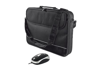 "Immagine di Trust 18902 - Carry Bag for 15-16"" laptops with mouse - black"