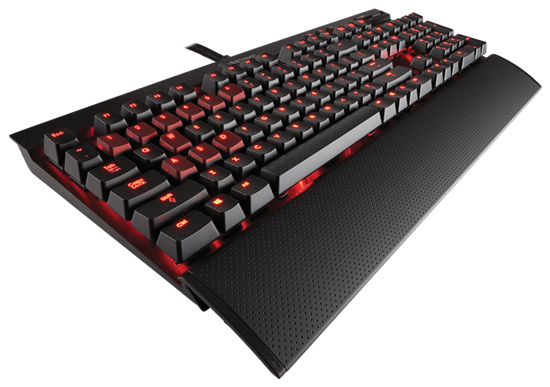 Immagine di Corsair Gaming K70 Red LED Cherry MX Red
