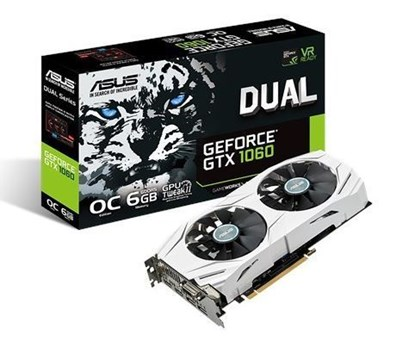 Immagine di Asus GeForce GTX1060 6GB Dual