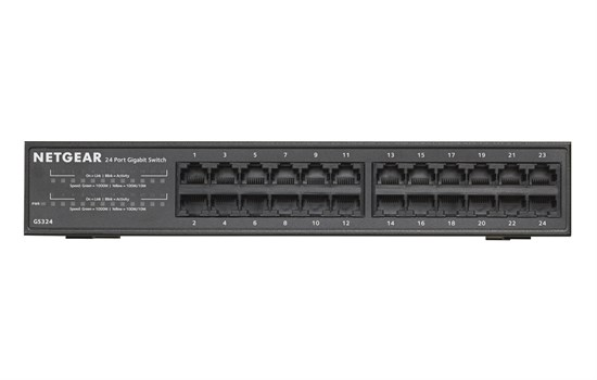 Immagine di Netgear GS324-100EUS - Switch 24 porte Gigabit