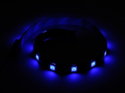 Immagine di Silverstone SST-LS01A LED Light Strip colore blu