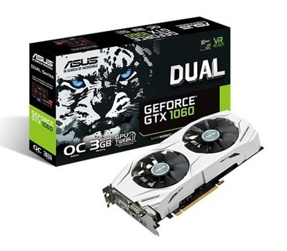 Immagine di Asus GeForce GTX1060 3GB Dual