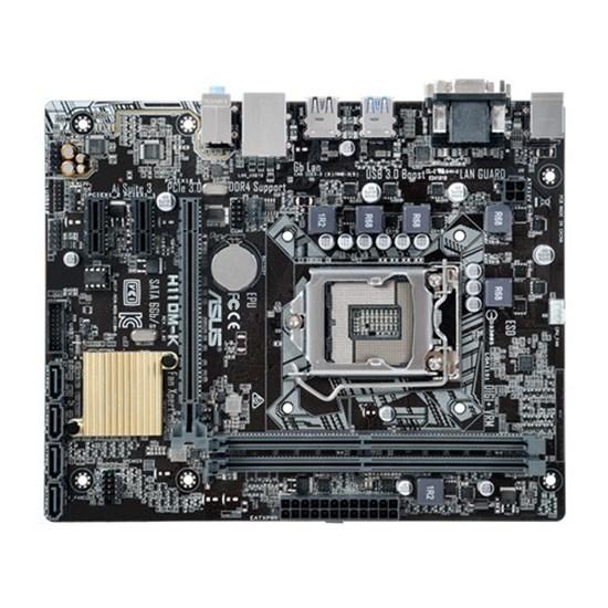 Immagine di Asus H110M-K - Socket Lga1151 - Chipset H110 - DDR4 - Vga+Dvi