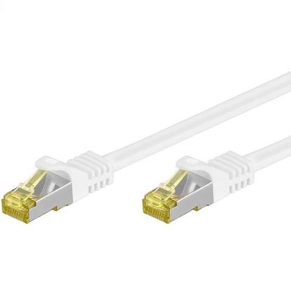 Immagine di Cavo S/FTP categoria 6 intestato con 2 connettori Rj45 -  3 metri