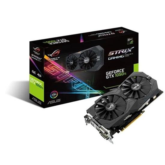 Immagine di Asus GeForce GTX1050TI 4GB Strix O4G