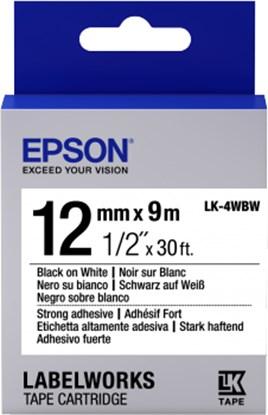 Immagine di Epson C53S654016 - Nastro LK4WBW