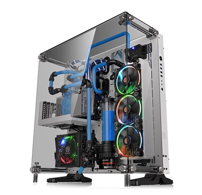 Immagine di Thermaltake Core P5 Snow Edition Tempered Glass