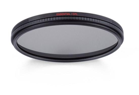 Immagine di Manfrotto Filtro Polarizzatore circolare Essential 67mm