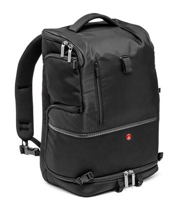 Immagine di Manfrotto MA-BP-TL - Tracolla e zaino nero grande per laptop, reflex, obiettivi