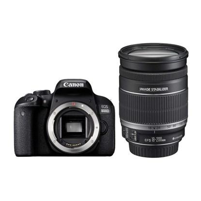 Immagine di Canon Eos 800D + EF-S 18-200 mm