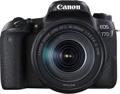 Immagine di Canon Eos 77D + EF-S 18-135 IS USM