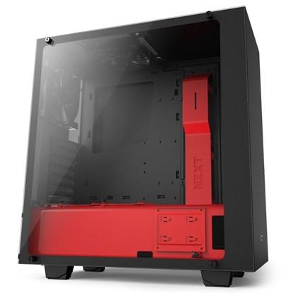 Immagine di NZXT Source 340 Elite nero/rosso