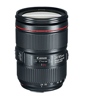 Immagine di Canon EF  24-105 mm f/4L IS II USM