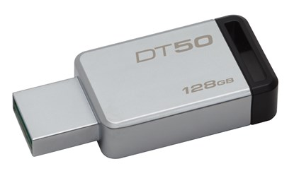 Immagine di Flash pen drive Kingston 128 GB - Usb 3.0 - DT50/128GB