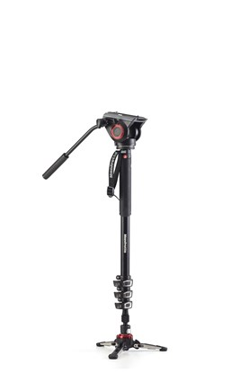Immagine di Manfrotto MVMXPRO500 - Monopiede video XPRO+ con base fluida e testa video
