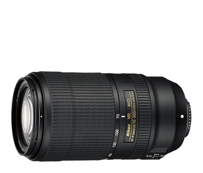Immagine di Nikkor AF-P 70-300 mm f/4.5-5.6E ED VR