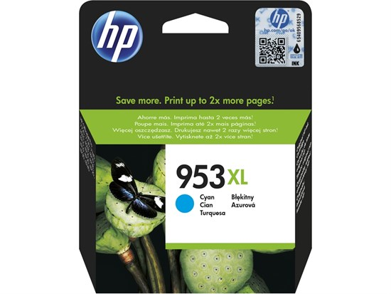 Immagine di HP F6U16AE - Cartuccia Ciano cod. 953XL