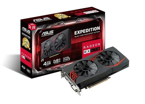 Immagine di Asus Radeon EX-RX570-4G