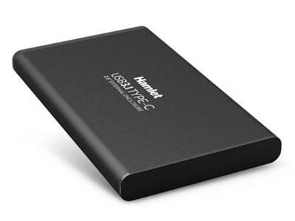 "Immagine di Hamlet HXD25TCU31 - Box HDD Sata 2,5"" - Usb 3.1 Type C"