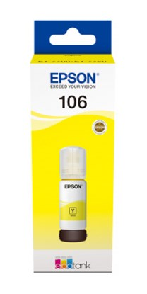 Immagine di Epson C13T00R440 - Flacone inchiostro giallo 70 ml Ecotank ET-7700 ET-7750