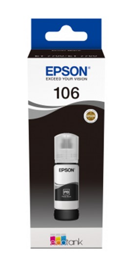 Immagine di Epson C13T00R140 - Flacone inchiostro nero foto 70 ml Ecotank ET-7700 ET-7750
