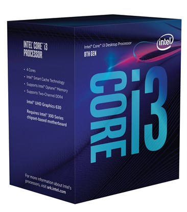 Immagine di Intel Core i3-8300 Coffe Lake