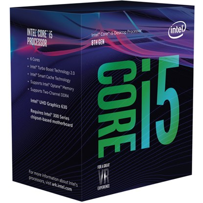 "Immagine di Intel Core i5-8500 Coffee Lake ""Prodotto vendibile solo all'interno di un pc completo"""